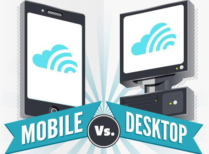 Dispositivi Mobile Vs Dispositivi Desktop