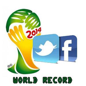 Record per Twitter e Facebook