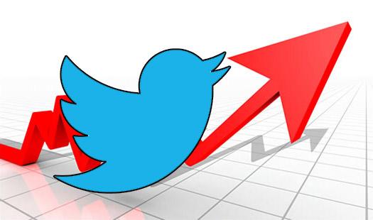 Utenti Twitter in Crescita