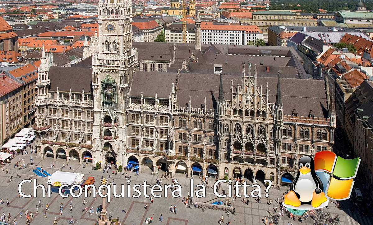Monaco di Baviera abbandona Linux
