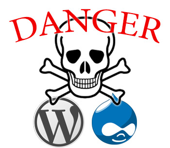 Vulnerabilità Hosting Wordpress e Drupal