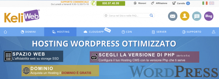 Keliweb-Hosting-WordPress