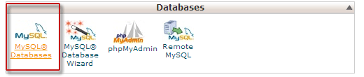 cpanel-create-database