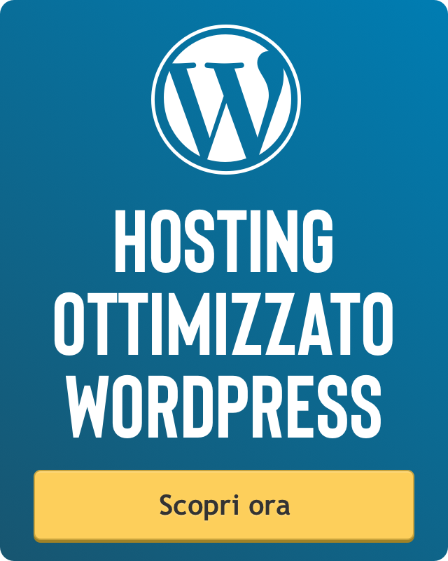 hosting per wordpress