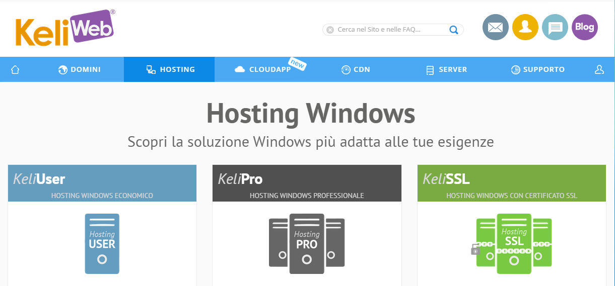 hosting-windows-keliweb