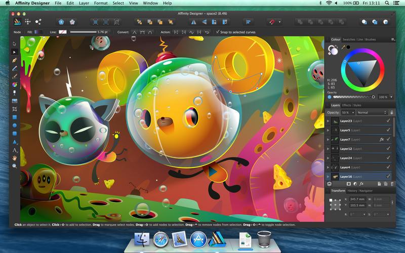 5 programmi di grafica gratis per mac keliweb blog for Programmi per design gratis