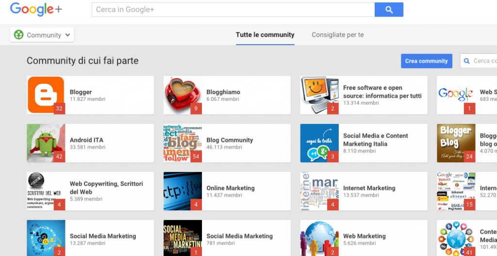 google+-community