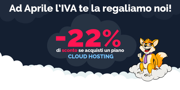 cloud hosting offerta