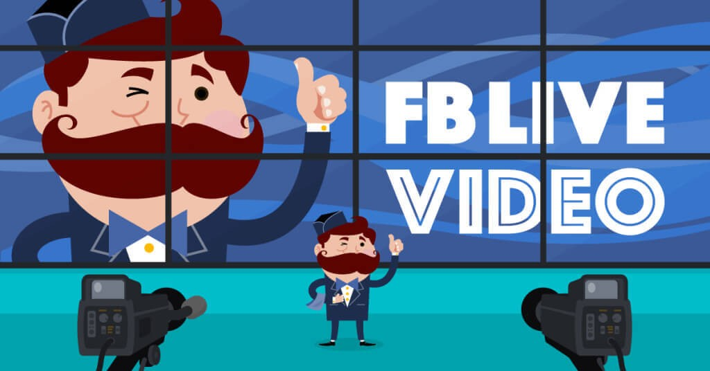 social media marketing facebook video streaming