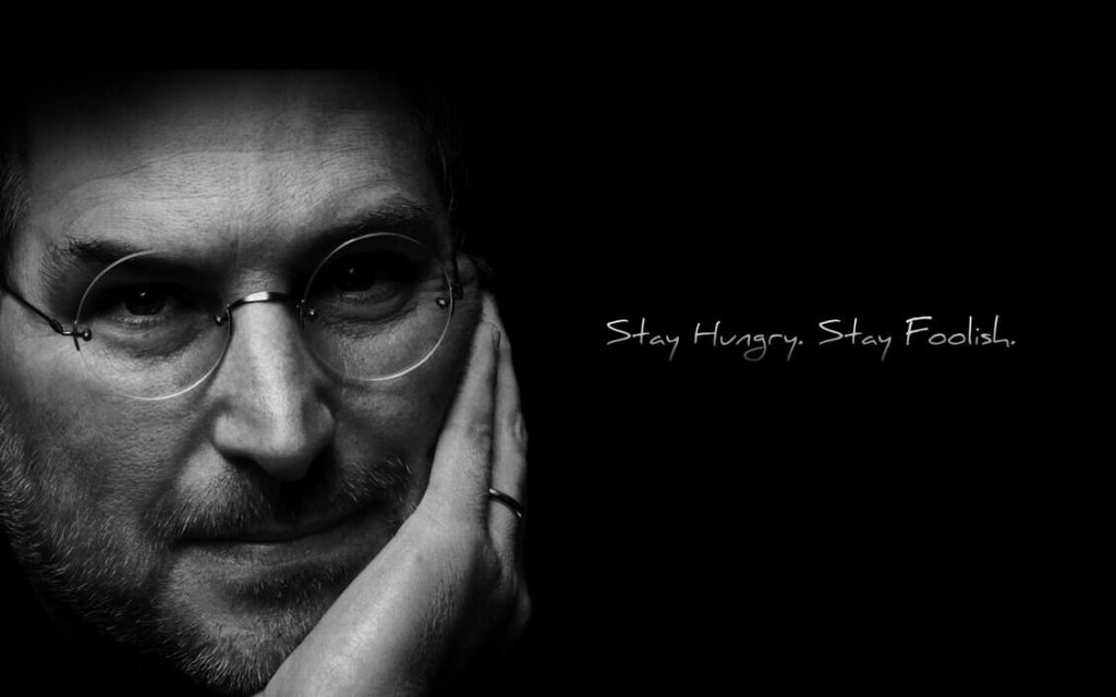 steve jobs stay hungry stay foolish