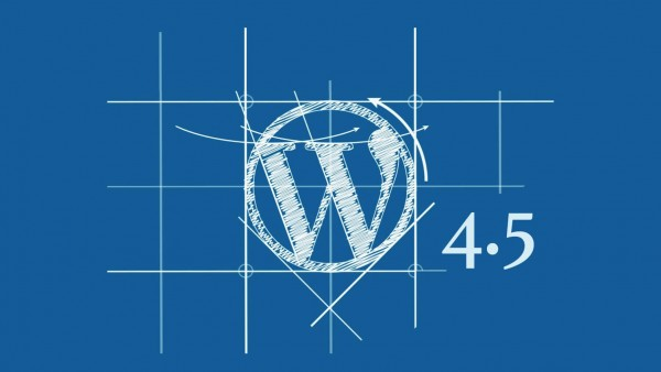 wordpress aggiornamento 4.5