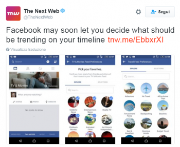 facebook news feed next web