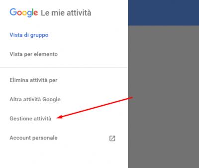 google gestione attività