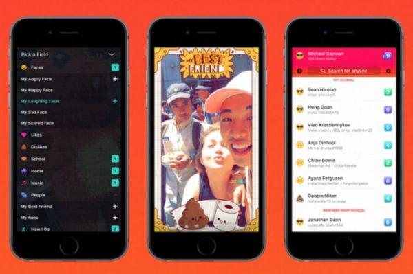 facebook vs snapchat app lifestage