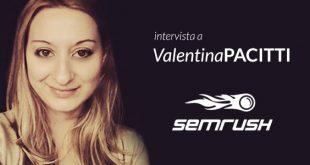 web marketing intervista valentina pacitti semrush