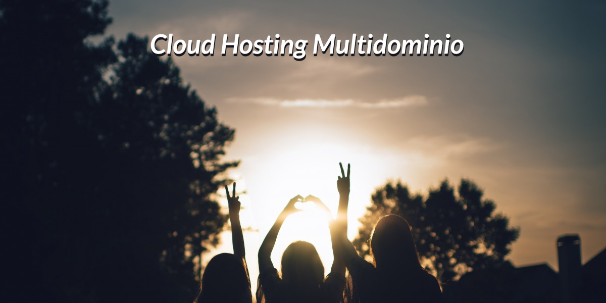 cloud hosting multidominio
