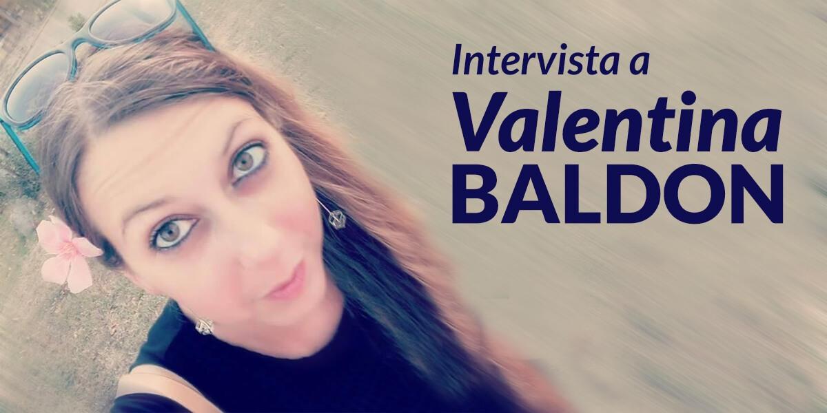 copywriting intervista valentina baldon