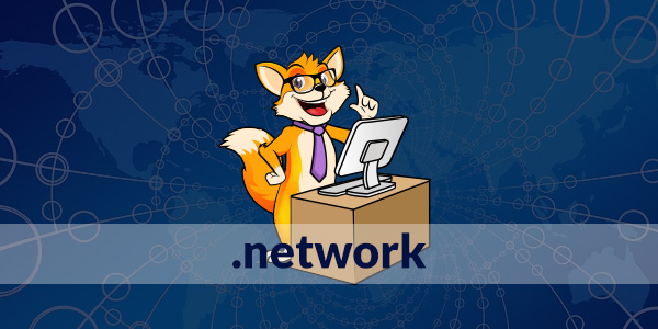 estensione dominio web .network