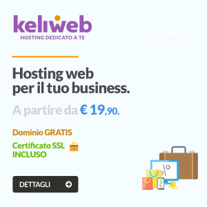 hosting web professionale