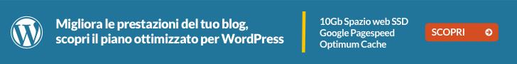miglior hosting italiano per wordpress