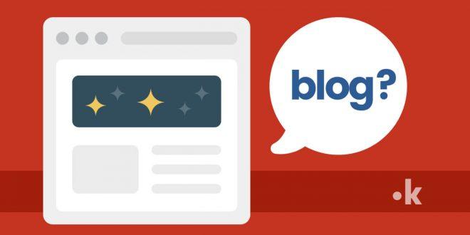 differenze blog sito