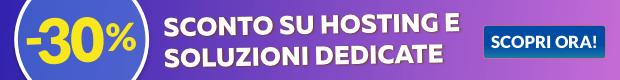 hosting sconto