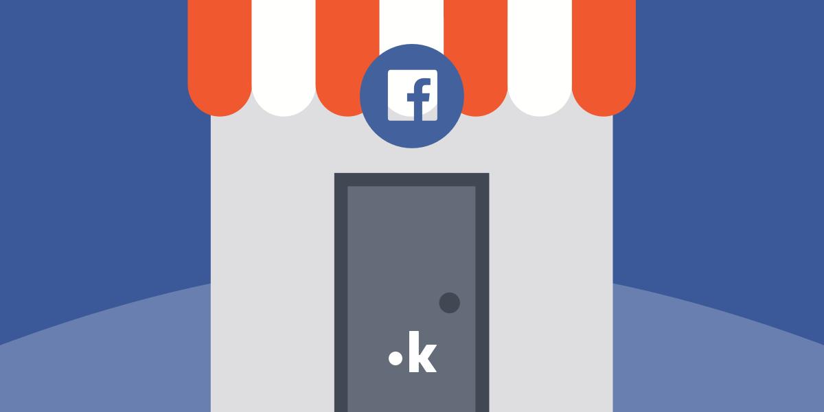 come creare vetrina prodotti facebook