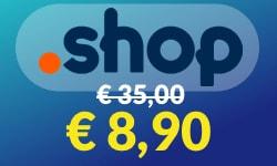 dominio .shop