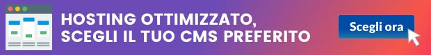 hosting ottimizzato per cms