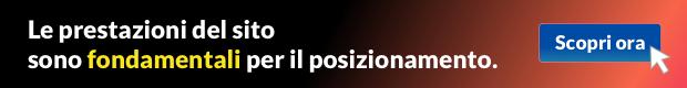 hosting prestazioni sito web