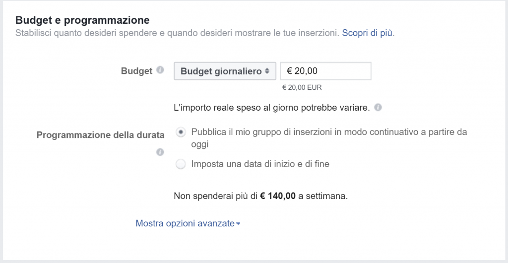 facebook lead ads schermata 6