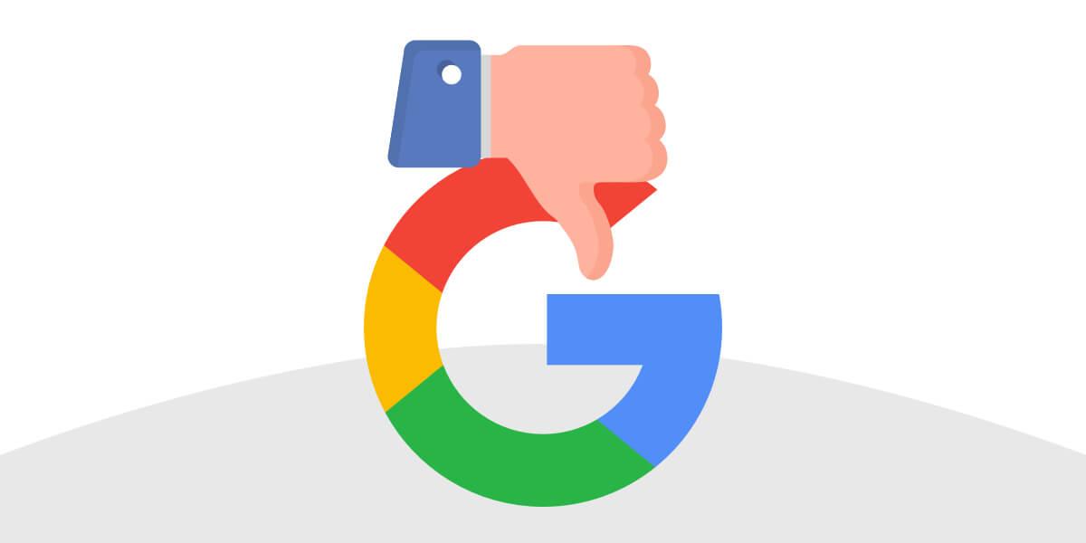google accusa serp siti pirata