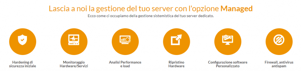 server dedicato managed