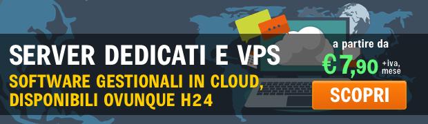 server dedicati vps cloud