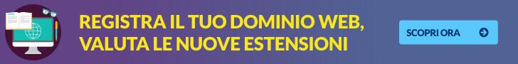 domini nuovi gtld registrazione dominio web