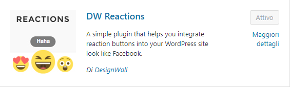 wordpress plugin dw reactions