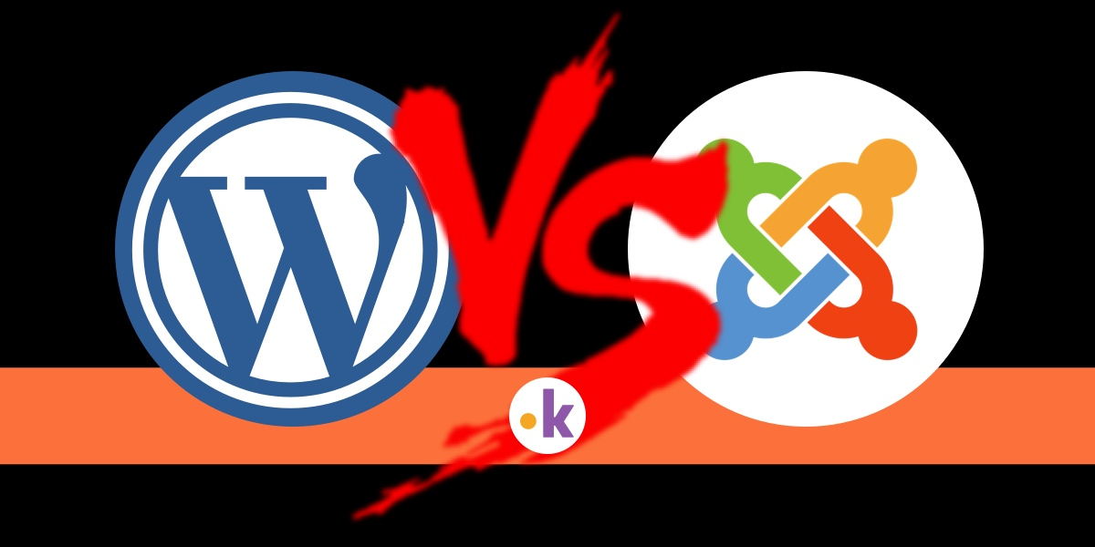 wordpress vs joomla