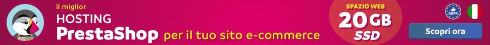 offerta hosting prestashop ecommerce