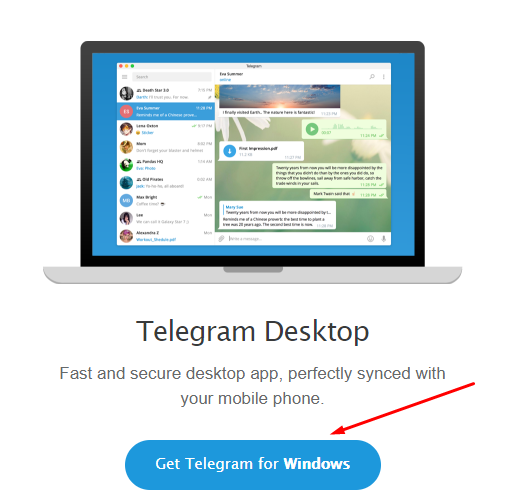 telegram desktop for windows