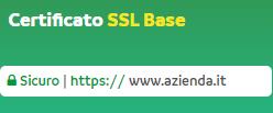 certificato ssl base