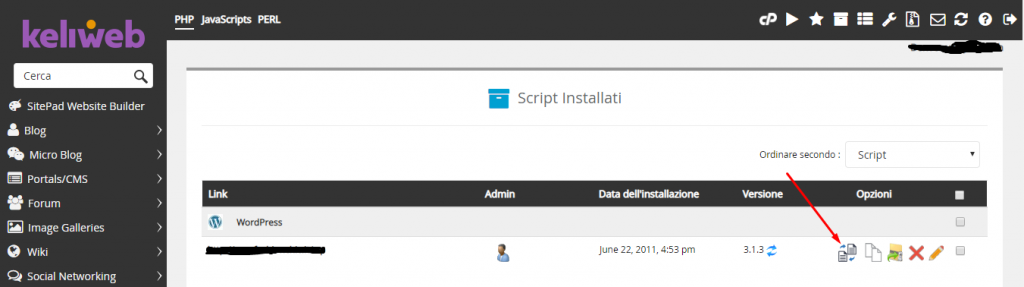 cpanel softaculous create staging