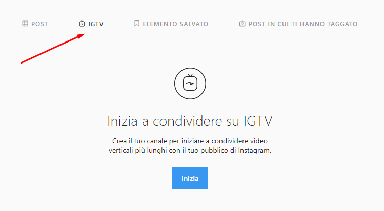 instagram igtv web version