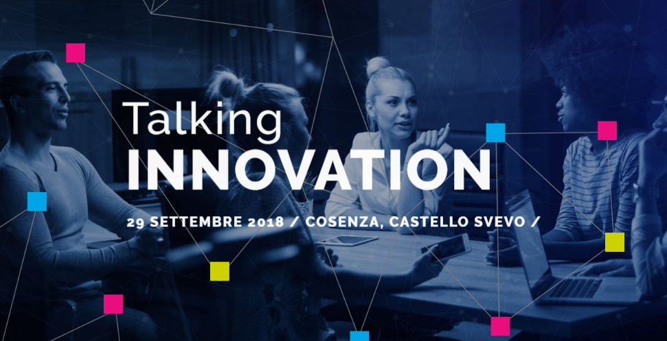 talking innovation cosenza 2018