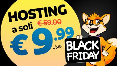 black friday 2018 offerta hosting