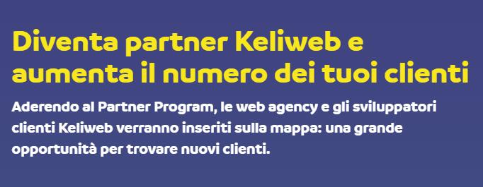 diventa partner keliweb