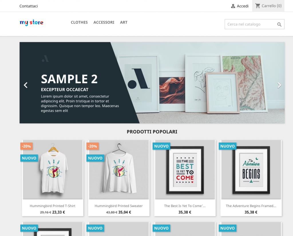 Scopri come creare un sito e-commerce con PrestaShop bf424087c1f