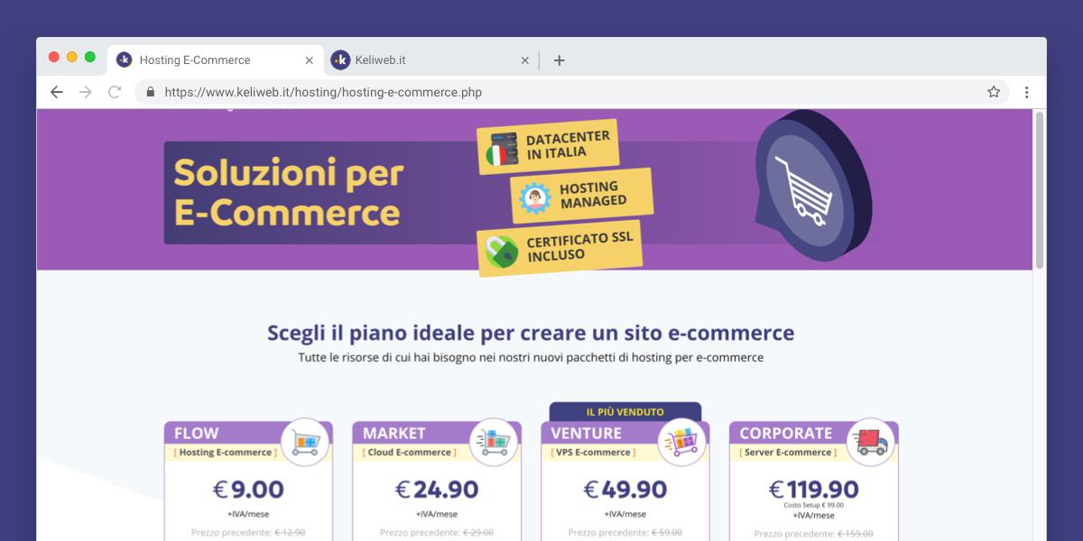 keliweb nuovi servizi per e-commerce