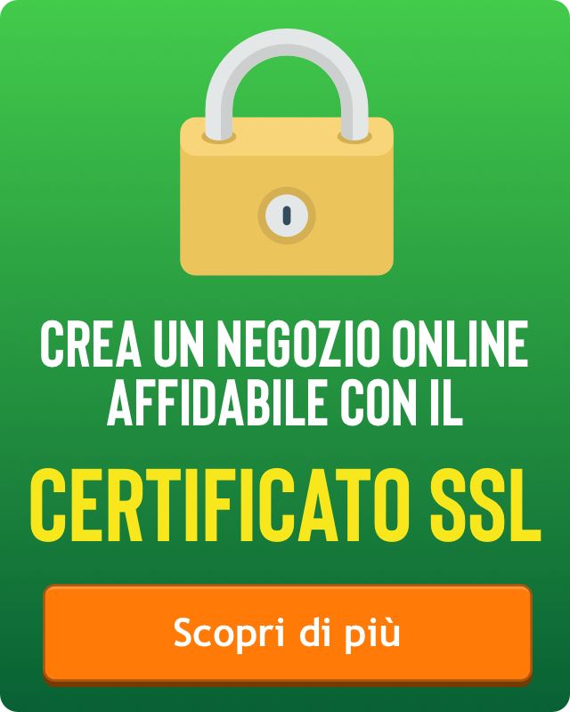 e-commerce certificato ssl