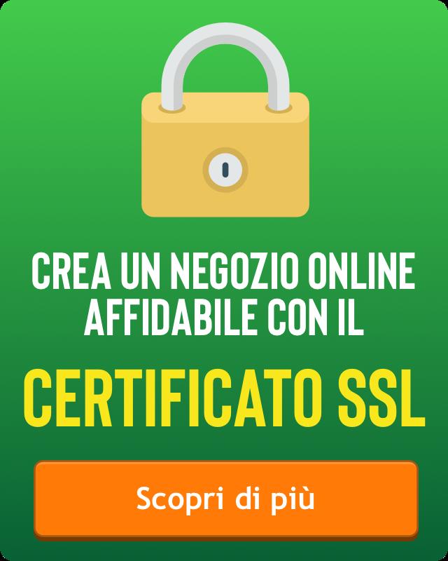 e-commerce certificato ssl