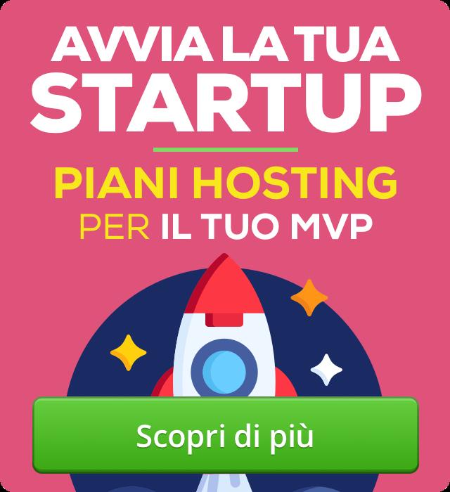 hosting startup MVP